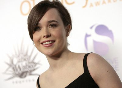 women, Ellen Page - random desktop wallpaper