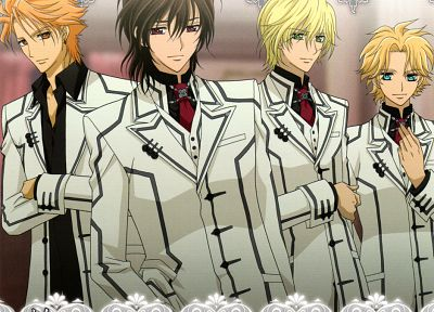 Vampire Knight, anime boys - desktop wallpaper