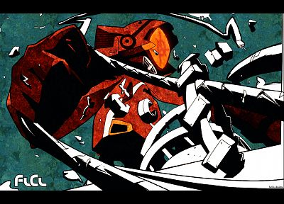 robots, FLCL Fooly Cooly, mecha, Canti, screens - related desktop wallpaper