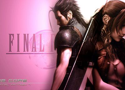 Final Fantasy, Crisis Core, Zack Fair - desktop wallpaper