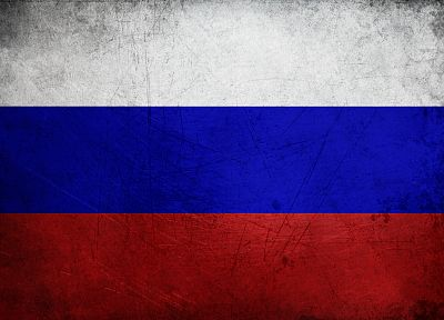 grunge, Russia, flags - related desktop wallpaper