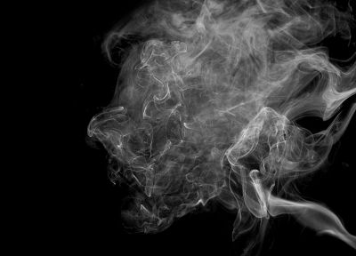 smoke, grayscale, monochrome - random desktop wallpaper