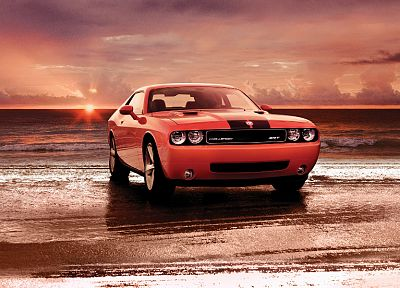 cars, Dodge Challenger, Dodge Challenger SRT8 - desktop wallpaper