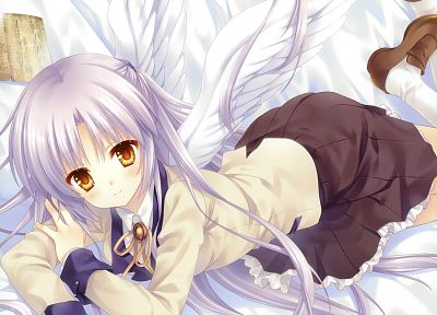 wings, Angel Beats!, Tachibana Kanade, anime - random desktop wallpaper