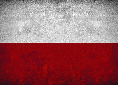red, white, flags, Polish, Poland - related desktop wallpaper