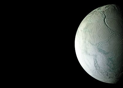 outer space, Moon, Enceladus - related desktop wallpaper