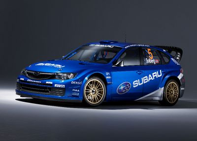 cars, rally, Subaru Impreza WRC, Petter Solberg, rally cars, blue cars, racing cars, rally car - desktop wallpaper