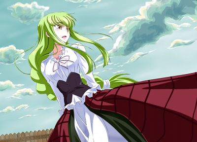 Code Geass, C.C. - desktop wallpaper