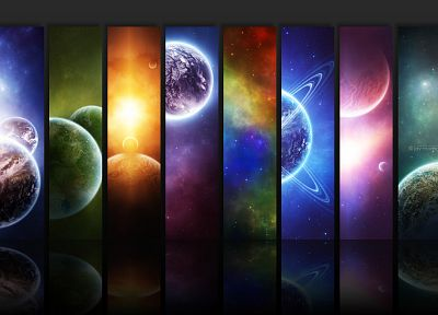 planets - random desktop wallpaper