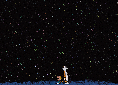 Calvin and Hobbes - related desktop wallpaper