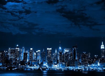 cityscapes, night, lights, urban - related desktop wallpaper