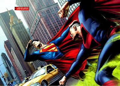 DC Comics, Superman - desktop wallpaper