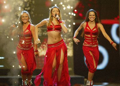 pop music, Hadise, Turkish, Eurovision Song Contest, eurovision 2009 - random desktop wallpaper