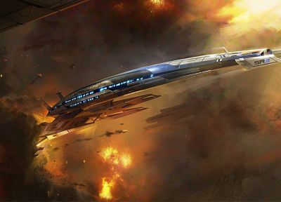 Normandy, Mass Effect, Mass Effect 2, Mass Effect 3, Mass Effect Normandy, games - related desktop wallpaper
