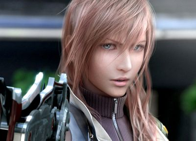 Final Fantasy, video games, Final Fantasy XIII, Claire Farron - duplicate desktop wallpaper