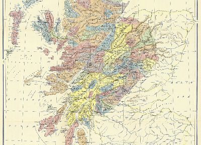 maps, Scotland - related desktop wallpaper