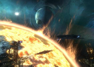 outer space, Halo, Halo Reach, battles, Glassing - related desktop wallpaper
