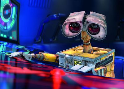 cartoons, Pixar, Wall-E, animation - related desktop wallpaper