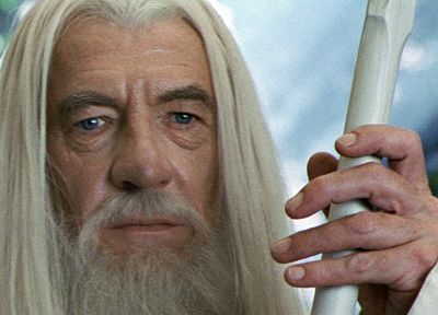 movies, Gandalf, The Lord of the Rings, Ian Mckellen, The Two Towers - random desktop wallpaper