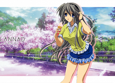 Clannad, Sakagami Tomoyo, anime - random desktop wallpaper