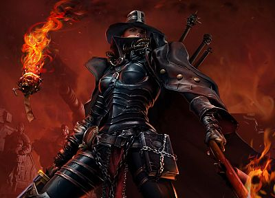 Warhammer, CGI, inquisition, inquisitor, Warhammer 40, 000, Warhammer 40k - desktop wallpaper