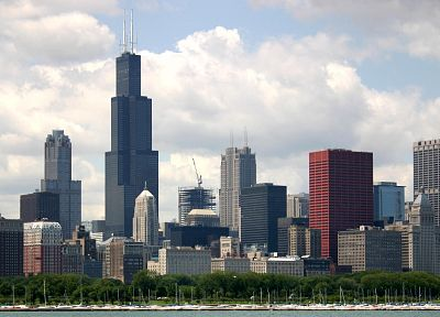 cityscapes, Chicago - random desktop wallpaper