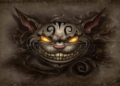 Cheshire Cat - random desktop wallpaper