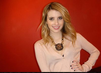 blondes, women, celebrity, Emma Roberts - random desktop wallpaper