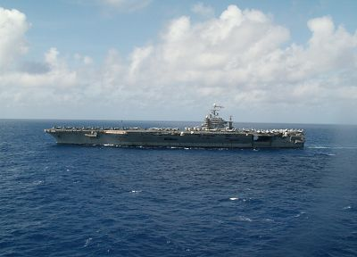 ships, navy, vehicles, aircraft carriers, CVN-72, USS Abraham Lincoln - desktop wallpaper