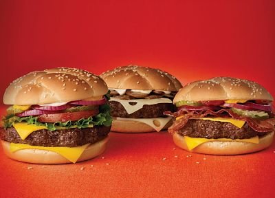 food, cheese, McDonalds, hamburgers, Angus Third-Pounder - random desktop wallpaper