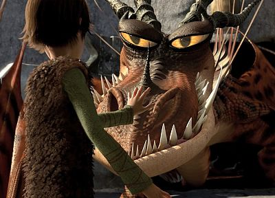 How to Train Your Dragon, Hiccup, Monstrous Nightmare - related desktop wallpaper