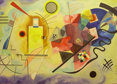 abstract, Wassily Kandinsky - random desktop wallpaper