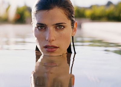 women, Lake Bell - random desktop wallpaper
