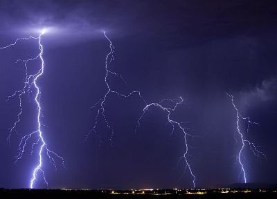 storm, weather, lightning - random desktop wallpaper