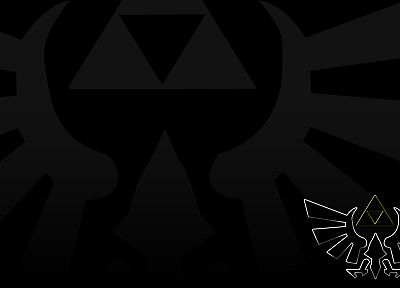 video games, triforce, The Legend of Zelda - random desktop wallpaper