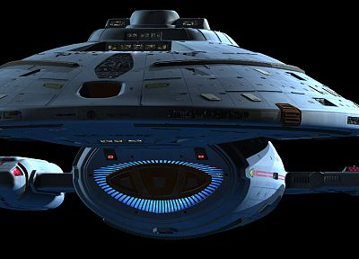 USS Voyager, Star Trek Voyager - random desktop wallpaper