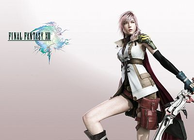 Final Fantasy XIII, Claire Farron - related desktop wallpaper