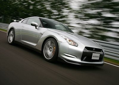 cars, Nissan GT-R - duplicate desktop wallpaper