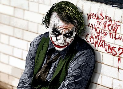 green, Batman, The Joker, Heath Ledger, The Dark Knight - related desktop wallpaper