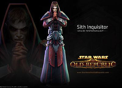 Star Wars, video games, republic, old, Sith, Star Wars: The Old Republic, inquisitor - desktop wallpaper