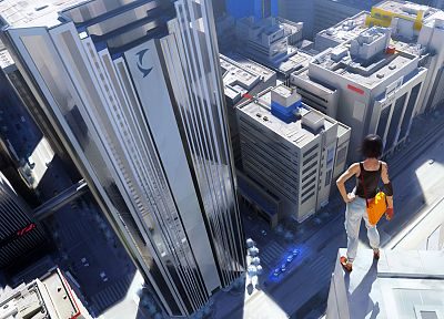 video games, mirrors, Mirrors Edge - related desktop wallpaper