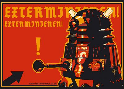 exterminate, German, Doctor Who - related desktop wallpaper