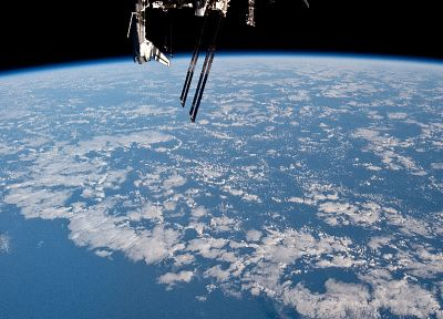 ISS, Space Shuttle, NASA, space station, endeavour - related desktop wallpaper