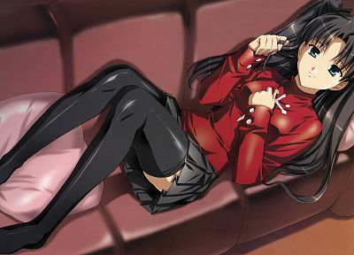 Fate/Stay Night, Tohsaka Rin, Type-Moon, Fate series - random desktop wallpaper