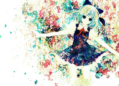 video games, Touhou, Cirno, anime girls - desktop wallpaper