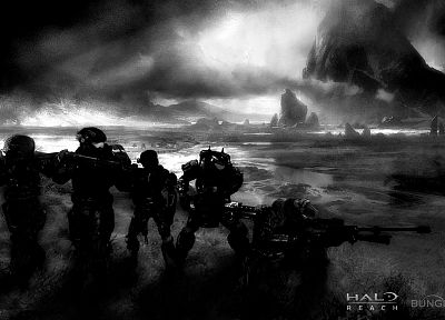 video games, Halo, Halo Reach - related desktop wallpaper