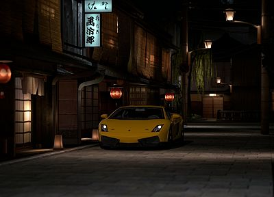 video games, cars, vehicles, Lamborghini Gallardo, Gran Turismo 5, Playstation 3 - random desktop wallpaper