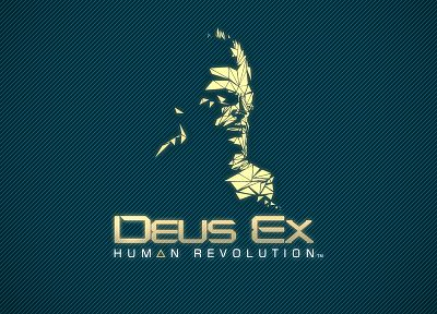 video games, logos, Deus Ex: Human Revolution, Adam Jensen - desktop wallpaper