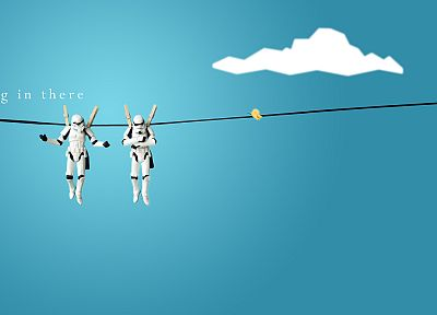 Star Wars, stormtroopers, funny, Clone Troopers - desktop wallpaper