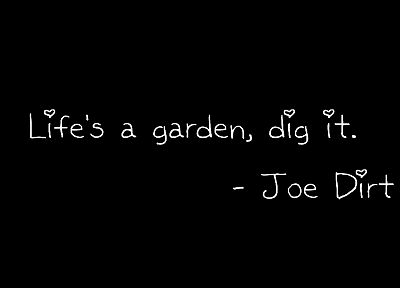 text, quotes, Joe Dirt - related desktop wallpaper